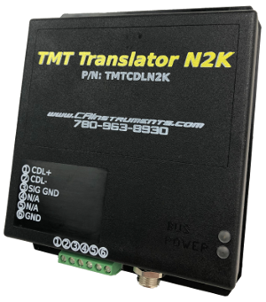 N2K Translator - Caterpillar CDL to NMEA 2000 Converter